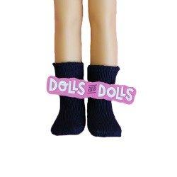 Paola Reina doll Complements 32 cm - Las Amigas - Navy blue socks