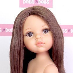 Paola Reina doll 32 cm - Las Amigas - Almudena with extralong hair without clothes