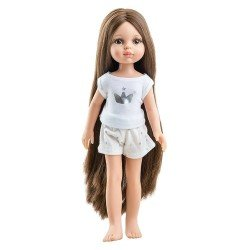 Paola Reina doll 32 cm - Las Amigas - Carol pyjamas
