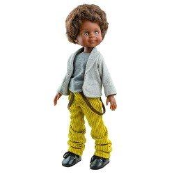 Paola Reina doll 32 cm - Las Amigas - Cayetano with jacket and corduroy pants