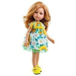 Paola Reina doll 32 cm - Las Amigas - Dasha with flower dress