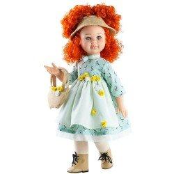 Paola Reina doll 60 cm - Las Reinas - Sandra with sea green dress and bag