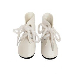 Paola Reina doll Complements 32 cm - Las Amigas - White boots with laces