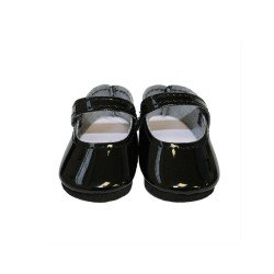 Paola Reina doll Complements 32 cm - Las Amigas and Gorjuss - Patent leather black shoes