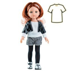 Paola Reina doll Outfit 32 cm - Las Amigas - Ruth houndstooth outfit