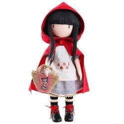 Paola Reina doll 32 cm - Santoro's Gorjuss doll - Little Red Riding Hood