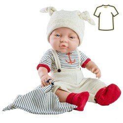 Paola Reina doll Outfit 45 cm - Bebitos - Navy outfit