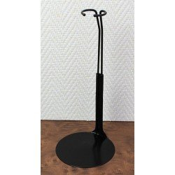 Metal doll stand 2275 in black for Barbie type