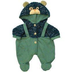 Ropa - Rubens Baby - Mono con capucha osito