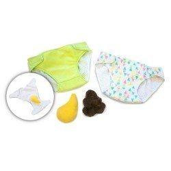 Rubens Barn doll Complements 45 cm - Rubens Baby - Diaper set