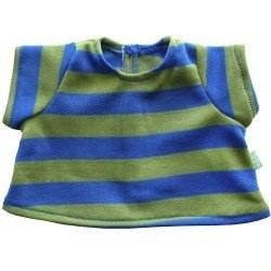 Rubens Barn doll Outfit 36 cm - Outfit for Rubens Ark and Kids - Green T-Shirt