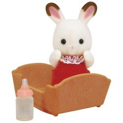 Sylvanian Families - Chocolate Rabbit Baby