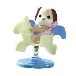 Sylvanian Families - Baby to bring - Dog with rocking horse