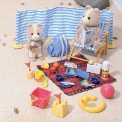Sylvanian Families - Day at the beach Set