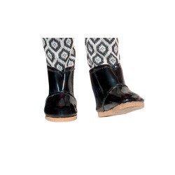 Vestida de Azul doll accessories 28 cm - Carlota - Black boots