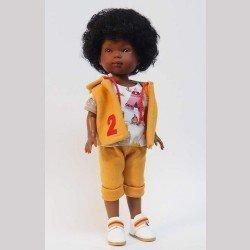 Vestida de Azul doll 28 cm - Los Amigos de Carlota - Omar with mustard pants and vest