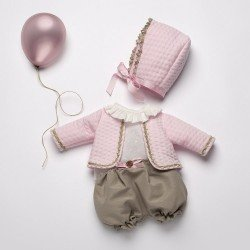 Así doll Outfit 46 cm - Boutique Reborn Collection - Outfit Amaya
