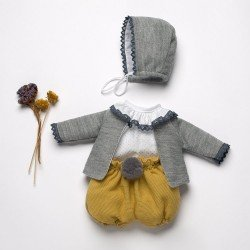 Así doll Outfit 46 cm - Boutique Reborn Collection - Outfit Blas