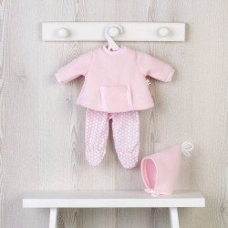 Así doll Outfit 36 cm - Pink sweatshirt set with pocket for Koke doll