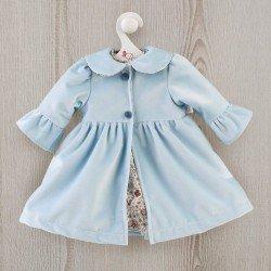 Así doll Outfit 57 cm - Light blue coat for Pepa doll