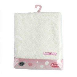 Antonio Juan doll Complements 40 - 52 cm - Fur cream blanket