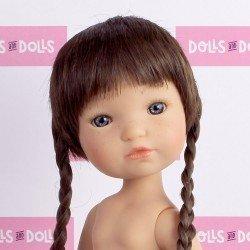 Poupée Berjuan 35 cm - Boutique dolls - Fashion Girl avec des tresses sans vêtements