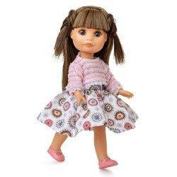 Poupée Berjuan 22 cm - Boutique dolls - Luci avec pull rose