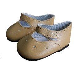 Poupées Paola Reina Compléments 60 cm - Las Reinas - Chaussures marron