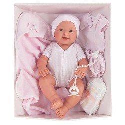 Poupée Antonio Juan 42 cm - Trousseau Newborn Mia Pee