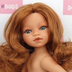 Poupée Antonio Juan 31 cm - Emily aux cheveux roux sans vêtements