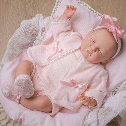 Poupée Berenguer Classics 43 cm - Peinte à la main - Reborn Baby Babylin