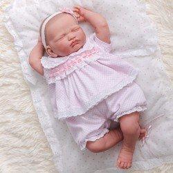 Poupée Berenguer Classics 43 cm - Peinte à la main - Reborn Baby Leonor