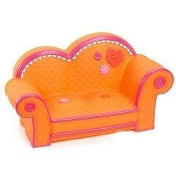 Accessoires de poupée Lalaloopsy 31 cm - Canapé orange