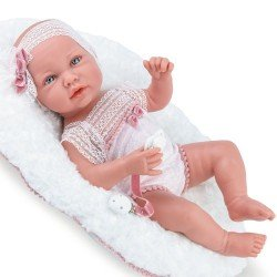 Poupée Marina & Pau 45 cm - Ane Baby Rosé