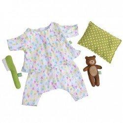 Tenue pour poupée Rubens Barn 36 cm - Tenue pour Rubens Ark and Kids - Tenue de bonne nuit
