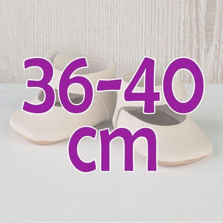 Así Doll Complements 36 bis 40 cm - Beige Stiefeletten für Guille, Koke und Nelly Puppe