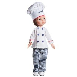 Paola Reina Puppe 32 cm - Las Amigas - Carlos Chef