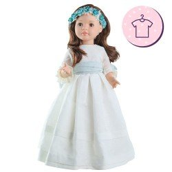 Outfit für Paola Reina Puppe 60 cm - Las Reinas - Lidia Kommunionkleid