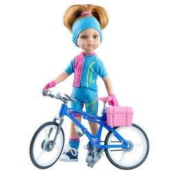 Paola Reina Puppe 32 cm - Las Amigas - Dasha mit Fahrrad