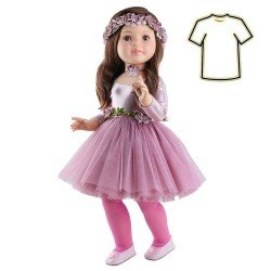 Outfit für Paola Reina Puppe 60 cm - Las Reinas - Kleid Lidia Ballerina
