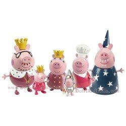 Peppa Pig Königsfamilie