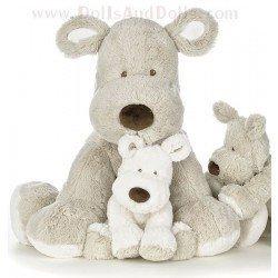 Teddy Creme - Grauer Hund - 40 cm
