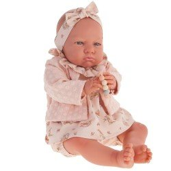 "Antonio Juan Puppe 52 cm - ""Mi Primer Reborn"" Berta mit Lachsjacke"