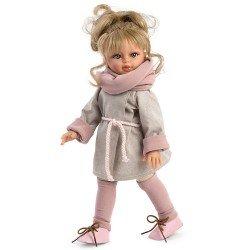 Así Puppe 40 cm - Sabrina mit Trenchcoat