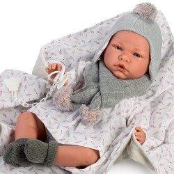 Así Puppe 46 cm - Érica, limitierte Serie Reborn Puppeborn
