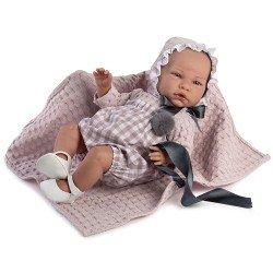 Así Puppe 46 cm - Lourdes, limitierte Serie Reborn Puppe