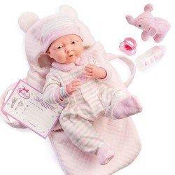 Berenguer Boutique Puppe 39 cm - 18791 Das Neugeborene mit Babywanne und Zubehör
