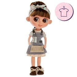 Outfit für Berjuan Puppe 32 cm - The Biggers - Elizabeth Reig Kleid