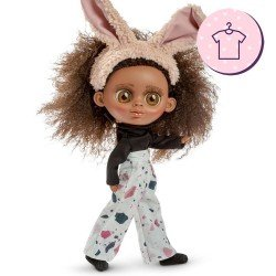 Outfit für Berjuan Puppe 32 cm - The Biggers - Luciana Matata Kleid