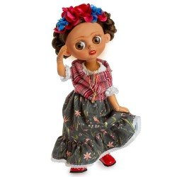 Berjuan Puppe 35 cm - Luxuspuppen - The Biggers mit Gelenk - Frida